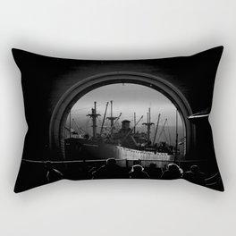 The SS Jeremiah O'Brien Rectangular Pillow