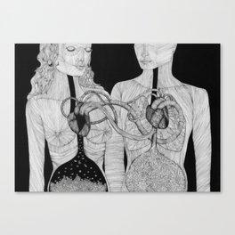 Höra ihop Canvas Print