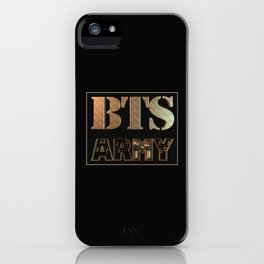 BTS x ARMY : Together Forever iPhone Case