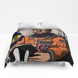 Space Captain Adam Comforters