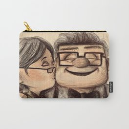 UP Kiss Love - Ellie Carl Carry-All Pouch