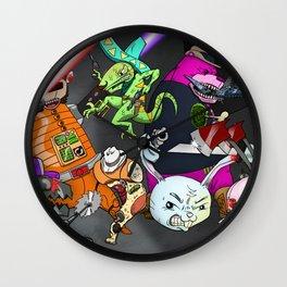 Kill the Robot Duplicates! Wall Clock
