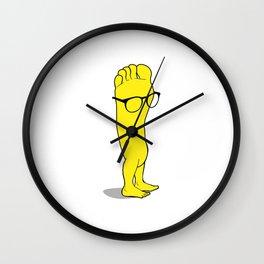 foot/feet Wall Clock