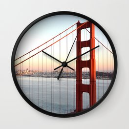 GOLDEN GATE BRIDGE Wall Clock