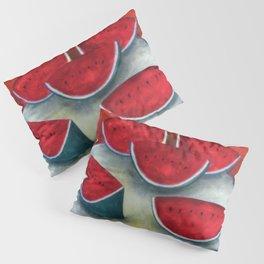 Festive Watermelon Still Life Pillow Sham
