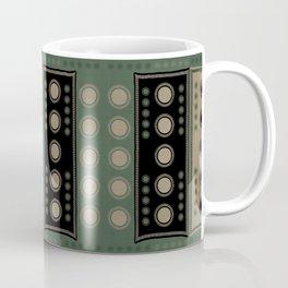 """Tribal Viridian Stars"" Coffee Mug"