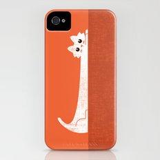 Mark's Superpower: cat Superstretch Slim Case iPhone (4, 4s)
