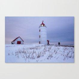 Phare de l'Île Verte Canvas Print