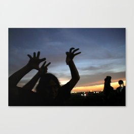 monster shadow twighlight Canvas Print