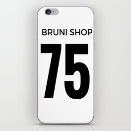 Bruni Shop 75 iPhone Skin