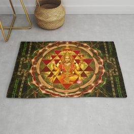 Shri Yantra- Maha Lakshmi Ashtakam- Abundance Rug