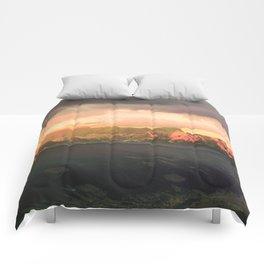Escaping  -  Mountains - Dachstein, Austria Comforters