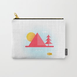OCEAN TO SKY Carry-All Pouch