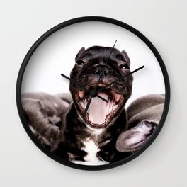 It's a Ruff life being a Puppy! Wall Clock