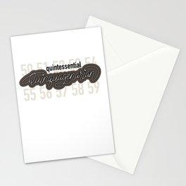 Quintessential Quinquagenarian Stationery Cards