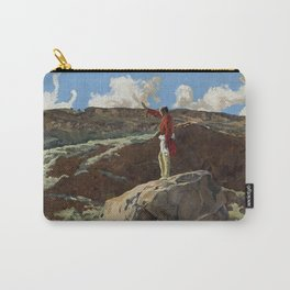 """""""Mountain Prayer"""" Western Art by Walter Ufer Carry-All Pouch"""