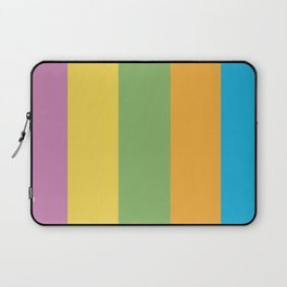Colorful Striped Pattern Laptop Sleeve