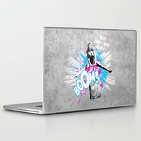 girl power Laptop & iPad Skins featuring Girl Power by victor calahan