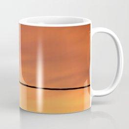 Seagull contemplating sunset Coffee Mug