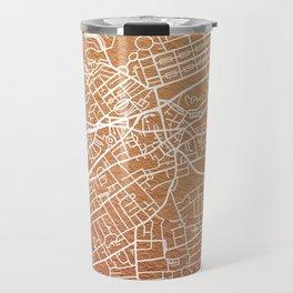 Edinburgh map Travel Mug