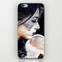 mermaid iPhone & iPod Skins featuring Mermaid by Detailicious