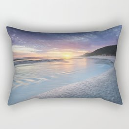 Curving into an Eleven Mile Sunset Rectangular Pillow