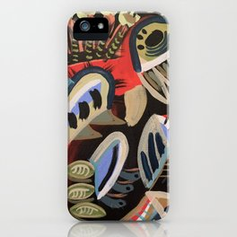 Blue Gum iPhone Case