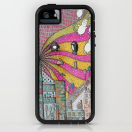 """Kittens""  Illustrated print iPhone Case"