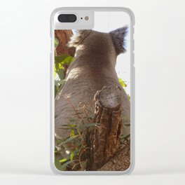 I'm not ready Clear iPhone Case