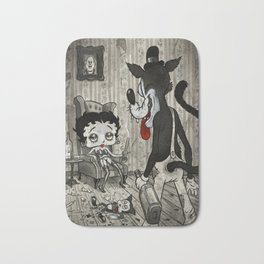 BETTY AND THE WOLF Bath Mat