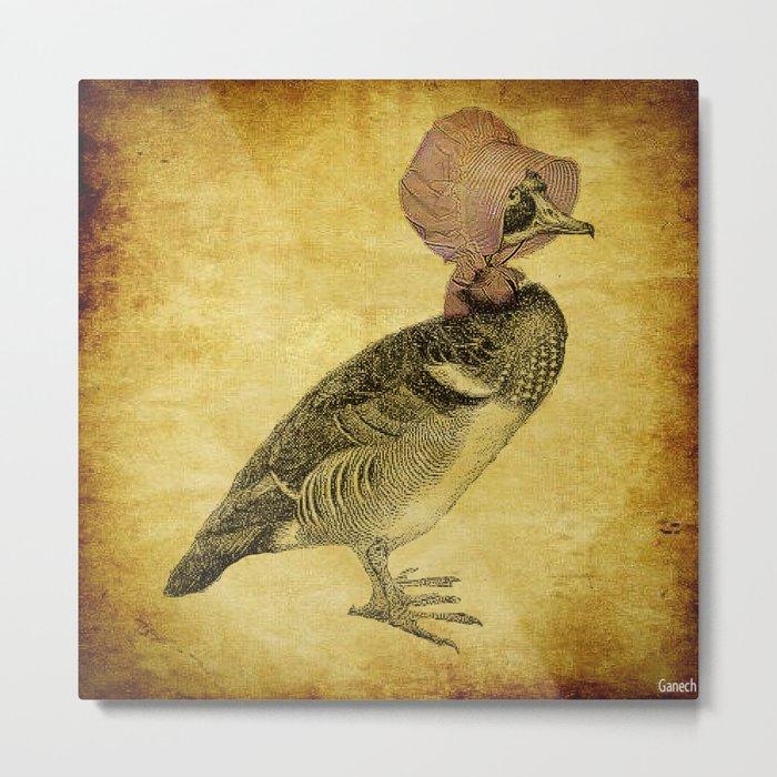 Duck Vintage Metal Print