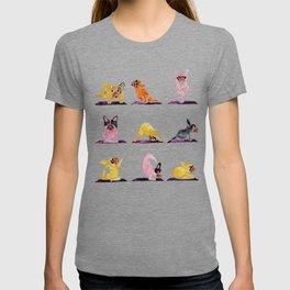 French Bulldog Yoga Watercolor T-shirt