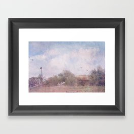 Somewhere in Texas Framed Art Print