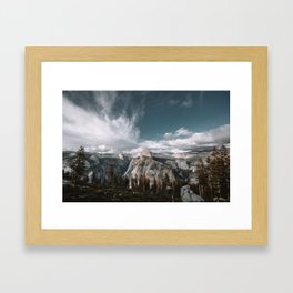 Glacier Point Wilderness Framed Art Print