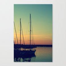 sea Puglia Canvas Print