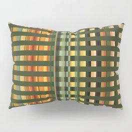 Pattern rectangle color multi I Pillow Sham