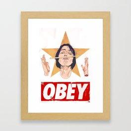 Anarchy in the Anime Kingdom Framed Art Print