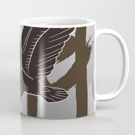 Calligraphy_Soaring Eagle_02 Coffee Mug