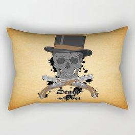 Death of the Poet Rectangular Pillow