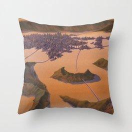 Cowboy bebop Throw Pillow