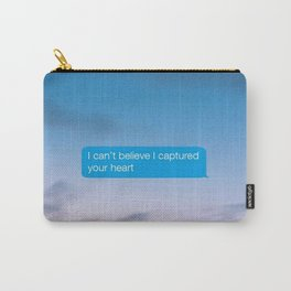 I Can't Believe Captured Your Heart Carry-All Pouch