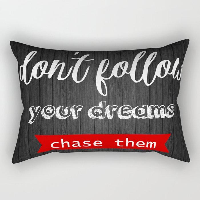 Chase them Rectangular Pillow