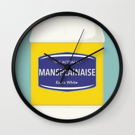 Mansplainaise Wall Clock