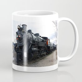 Vintage Railroad Steam Train Coffee Mug