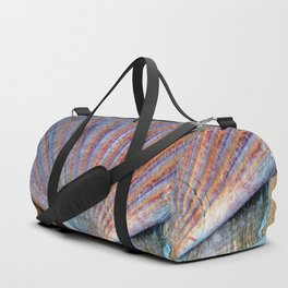 Scallop Shell on the Sand Duffle Bag