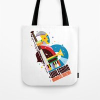 mozart Tote Bags featuring Mozart by Szoki
