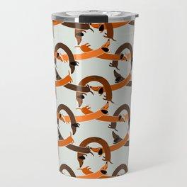 Seamless Dachshund pattern Travel Mug