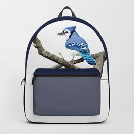 Blue Jay in Branches Backpack