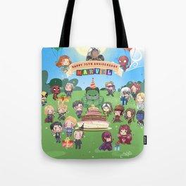 M A R V E L B-Day Tote Bag