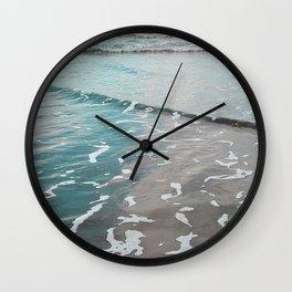 neon ocean Wall Clock